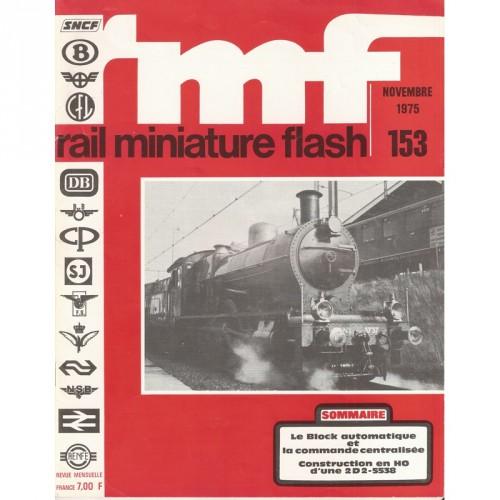 """lot de 9 revues """"Rail Miniature Flash""""1975"""