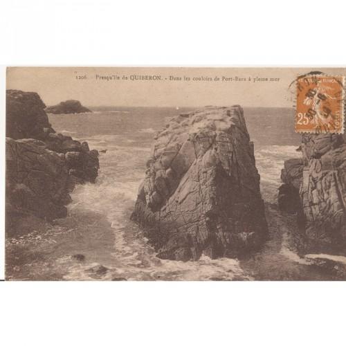 CPA Presqu'Ile de Quiberon 1928