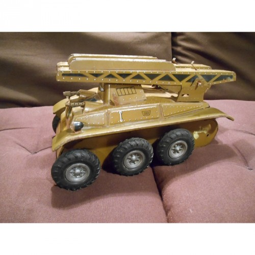 Lance Missile Joustra en Tole Imprimée