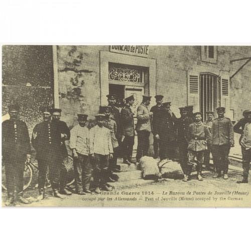 La Grande Guerre 1914 Le Bureau de Postes de Jouville