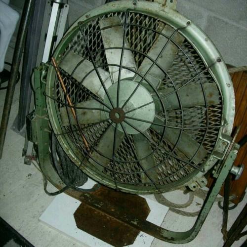 Ventilateur de cinéma Ancien