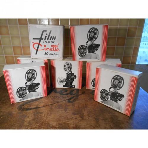 """Lot de 7 films pour """"Cinette"""""""