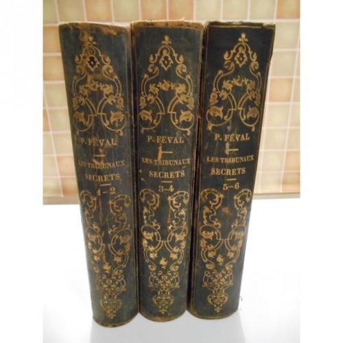les Tribunaux Secrets 6 Tomes en 3 volumes