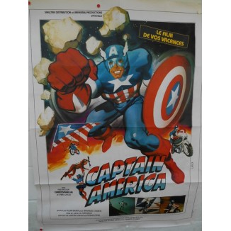 Captain America affiche de film 1979