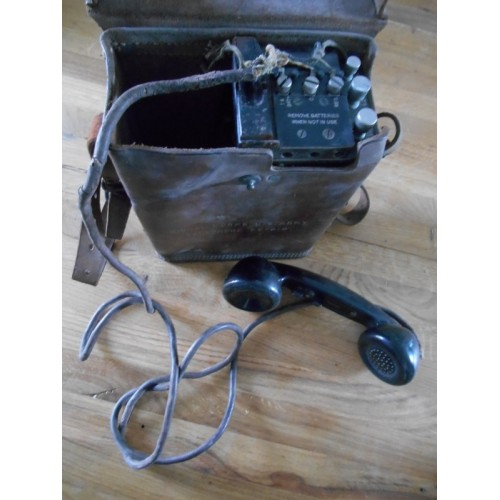 Radio militaire Ancienne