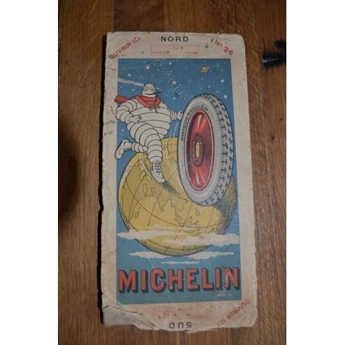 Carte Routière Michelin n° 26 (1923-1924)
