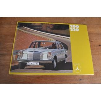 Brochure Mercedes 200-220